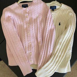 Set of 2 Polo Ralph Lauren sweaters.